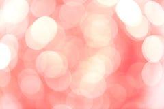 Blured пинком абстрактное backgound bokeh Стоковые Изображения RF