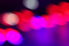 Blured abstrakt lampor Arkivbilder