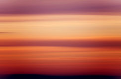 Blured background - sunset colors Royalty Free Stock Photography