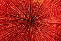 Blured bakgrund med ljusa linjer av rött ljus arkivfoton