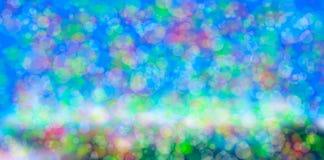 Blured bokeh tło Obrazy Stock