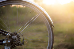 Blured bycicle Royalty Free Stock Photo