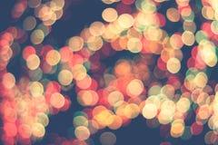 Blured city lights Stock Image