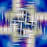 Blured koloru tła błękitny popielaty żywy wzór Zdjęcie Stock