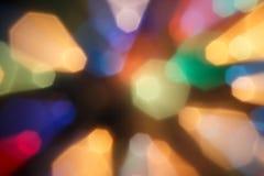blured lampor Royaltyfri Foto