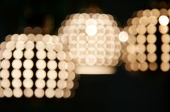 blured lighting Royaltyfria Foton