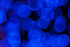 Blured lights Stock Image