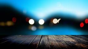 Blured ljus Royaltyfri Foto