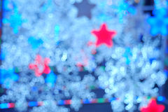 Blured night light. bokeh background, Blur concept. Stock Photography