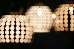 blured oświetlenia Zdjęcia Royalty Free
