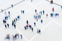 Blured ruch bezlików ludzie zdjęcie royalty free