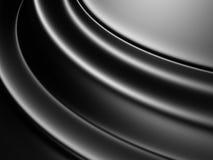 Blured Waves Metallic Pattern Background Stock Image