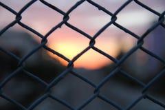 Blurish sunset stock image