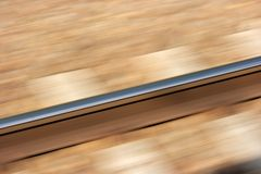 blurjärnväg Arkivfoto