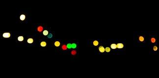 Blurr bokeh lights Royalty Free Stock Images