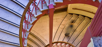 blurre σπειροειδής σκάλα Στοκ εικόνα με δικαίωμα ελεύθερης χρήσης