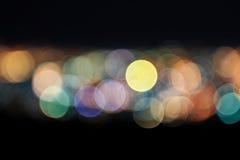 Blurred市光摘要  库存照片