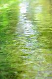 Blurred流动的水 库存照片