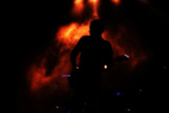 Blurred кукарекало предпосылки диапазона этапа Стоковое Изображение RF
