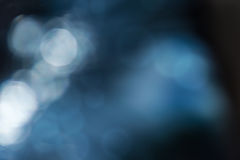 Blurred abstract background bokeh. Blurred abstract background in dark blue tones with bokeh effect Royalty Free Stock Photos