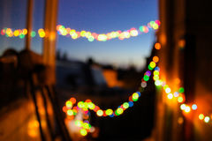 Blurred abstract background farewell party lights bokeh warm memories. Blurred abstract background farewell party lights bokeh royalty free stock photos