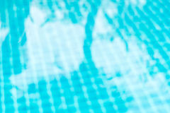 Blurred abstract background of floor in swimming pool with shado Royalty Free Stock Photos