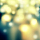 Blurred abstract background lights - circular reflections of Chr stock photos