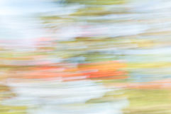 Blurred abstract background. Orange blue and green. Royalty Free Stock Photo