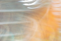 Blurred abstract background. Painterly stripes on orange. Royalty Free Stock Photo