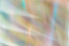 Blurred abstract background. Pastel rainbow lights. Stock Image