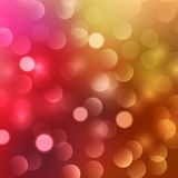 Blurred abstract background. With red and white bokeh Royalty Free Stock Photo