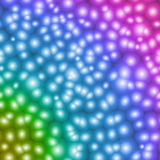 Blurred abstract blue, green, yellow, pink, violet sphere textur. E Royalty Free Stock Image