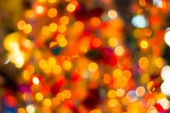 Blurred abstract bokeh background for Decorations Royalty Free Stock Photo