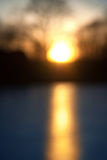 Blurred abstract colorful nature sunset background Stock Images