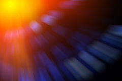 Blurred abstract composition Stock Photography