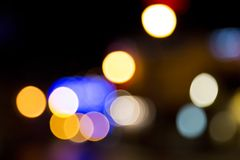 Blurred abstract decoration Royalty Free Stock Photo