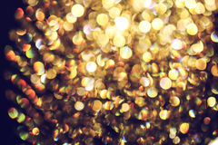 Blurred abstract light of luxury lamp at night for party or celebration background. Perfect for your presentations Royalty Free Stock Image