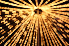 Blurred abstract pattern - circle light Royalty Free Stock Photo
