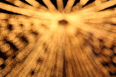 Blurred abstract pattern - circle light Stock Photo