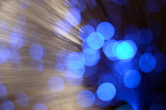 Blurred abstract pink and blue bokeh lights. Christmas holiday defocused background Royalty Free Stock Photo