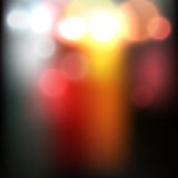 Blurred abstract road image Royalty Free Stock Photo