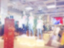 Blurred abstract store of shopping mall as background, bokeh. Blurred abstract store of shopping mall as background. Bokeh Royalty Free Stock Photography