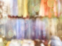 Blurred abstract store of shopping mall as background, bokeh. Blurred abstract store of shopping mall as background. Bokeh Royalty Free Stock Photo