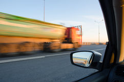 Blurred action at high speed Stock Photo