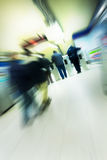 Blurred advancing people Stock Photos