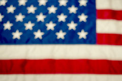 Blurred American Flag Background Royalty Free Stock Photos