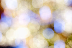Blurred Background with Bokeh. Royalty Free Stock Images