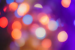 Blurred background- bokeh. Abstract outline of light- colored circles bokeh. Blurred background Royalty Free Stock Photo