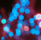 Blurred background bokeh Stock Photography