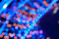 Blurred background bokeh Stock Image